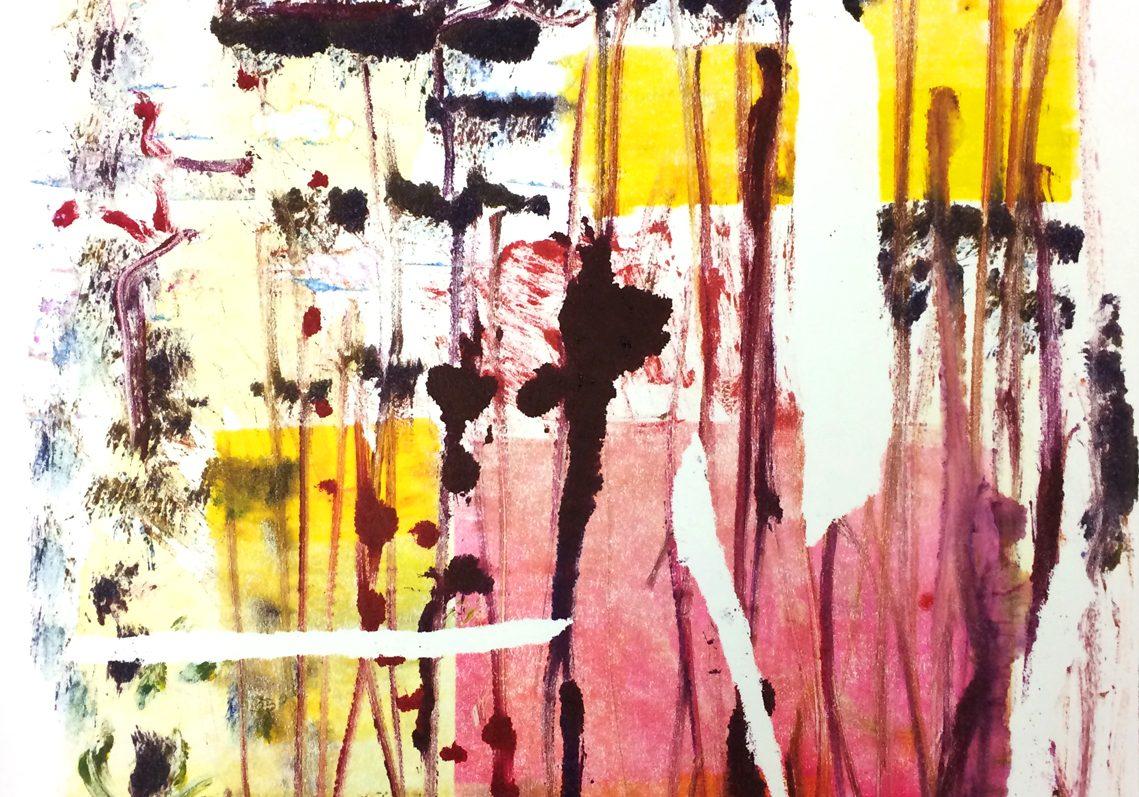 Colour Monoprint 2017 'Ripheads'